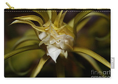 Carry-all Pouch featuring the photograph Dragon Flower by David Millenheft
