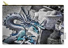 Dragon Fountain Carry-all Pouch