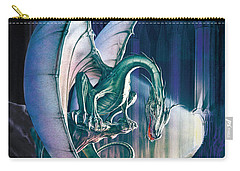 Dragon Lair With Stairs Carry-all Pouch by The Dragon Chronicles - Robin Ko