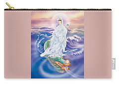 Dragon-riding Avalokitesvara  Carry-all Pouch
