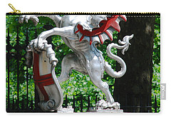 Dragon With St George Shield Carry-all Pouch