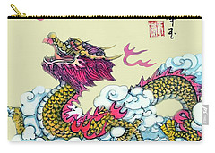 Carry-all Pouch featuring the photograph Dragon by Yufeng Wang