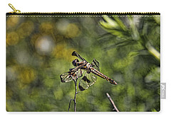 Dragonfly Carry-all Pouch by Daniel Sheldon