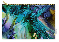 Dragonfly Dreamin Carry-all Pouch