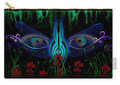 Dragonfly Eyes Series 6 Final Carry-all Pouch