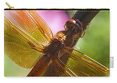 Dragonfly Patterns Carry-all Pouch