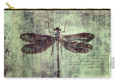 Dragonfly Carry-all Pouch by Priska Wettstein