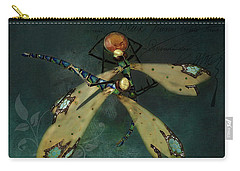 Dragonfly Romance Carry-all Pouch