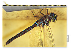 Carry-all Pouch featuring the photograph Dragonfly Web by Melanie Lankford Photography