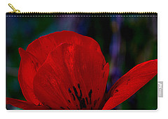 Dramatic Poppie Carry-all Pouch
