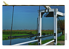 Drawbridge At Zaanse Schans Carry-all Pouch by Jonah  Anderson