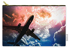 Flight Carry-all Pouch featuring the photograph Dream Flight by Aaron Berg