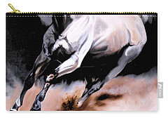 Dream Horse Series 20 - White Lighting Carry-all Pouch by Cheryl Poland