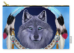 Dream Wolf Carry-all Pouch by Glenn Holbrook