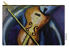 Carry-all Pouch featuring the painting Dreamers 99-002 by Mario Perron
