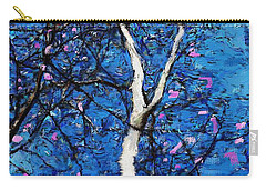 Carry-all Pouch featuring the digital art Dreaming Of Spring by David Lane
