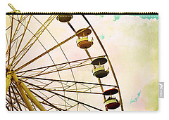 Dreaming Of Summer - Ferris Wheel Carry-all Pouch
