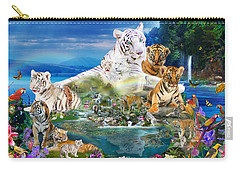 Dreaming Of Tigers  Variation  Carry-all Pouch