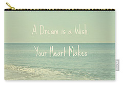 Dreams And Wishes Carry-all Pouch
