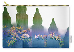 Carry-all Pouch featuring the photograph Dreams Of A Picket Fence by Holly Kempe