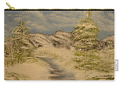 Dreams Of Snow Carry-all Pouch