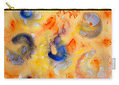 Carry-all Pouch featuring the painting Dream In Color by Dee Dee  Whittle