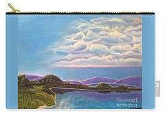 Carry-all Pouch featuring the painting Dreamscapes by Kimberlee Baxter