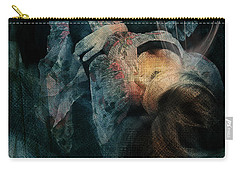 Carry-all Pouch featuring the digital art Dreamweaver Urban Fantasy by Galen Valle