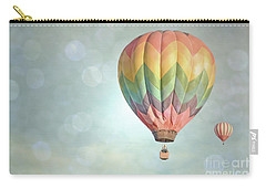 Dreamy Balloon Pair Sky Carry-all Pouch by Andrea Hazel Ihlefeld