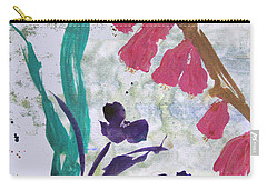 Dreamy Day Flowers Carry-all Pouch