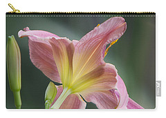 Carry-all Pouch featuring the photograph Dreamy Daylily by Patti Deters