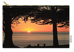 Dreamy Day's End Carry-all Pouch by E Faithe Lester