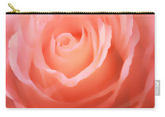 Dreamy Pink Rose Carry-all Pouch