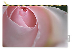 Carry-all Pouch featuring the photograph Dreamy Rose by Joy Watson