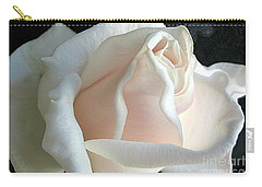 Dreamy White Rose Carry-all Pouch