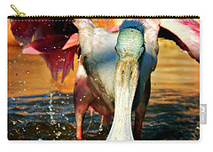 Carry-all Pouch featuring the photograph Drenched by Faith Williams