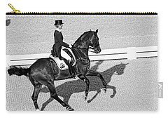 Dressage Une Noir Carry-all Pouch by Alice Gipson