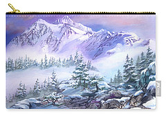 Dressed In White Mount Shuksan Carry-all Pouch