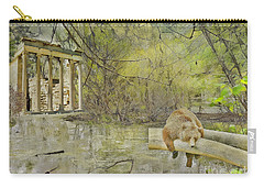 Carry-all Pouch featuring the photograph Drifter by Liane Wright