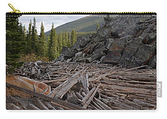 Driftwood And Rock Carry-all Pouch