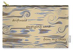 Driftwood Haiga Carry-all Pouch by Judi Suni Hall