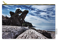 Driftwood In Teddy Bear Cover Carry-all Pouch