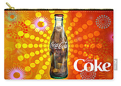 Drink Ice Cold Coke 4 Carry-all Pouch
