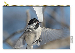 Drinking In Flight Carry-all Pouch by Cheryl Baxter