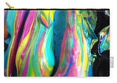 Dripping Paint #3 Carry-all Pouch