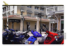 Drivin Duval Carry-all Pouch by Robert McCubbin