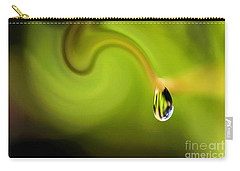 Droplet Ready To Drip Carry-all Pouch by Kaye Menner