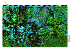 Carry-all Pouch featuring the mixed media Drowning by Ally  White