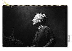 Drummer Portrait Of A Muscian Carry-all Pouch