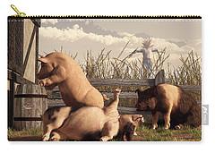 Drunken Pigs Carry-all Pouch